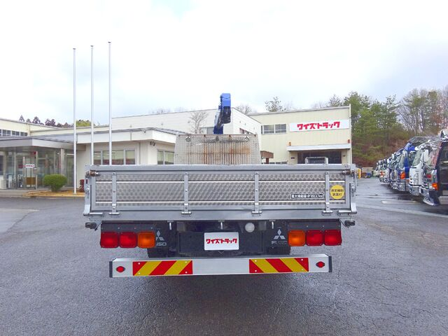 三菱 H27 ファイター 増トン ワイド 平 3段クレーン 画像8