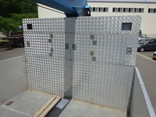 UD H26 クオン 3軸  2デフ アルミブロック 4段クレーン 画像15
