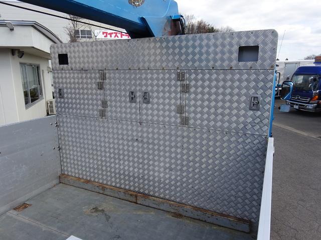UD H26 クオン 3軸  2デフ アルミブロック 4段クレーン 画像5