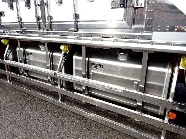 三菱 H27 スーパーグレート ハイルーフ 3軸 低温冷凍車 画像22