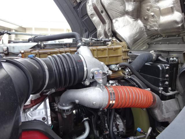 三菱 H27 スーパーグレート ハイルーフ 3軸 低温冷凍車 画像18