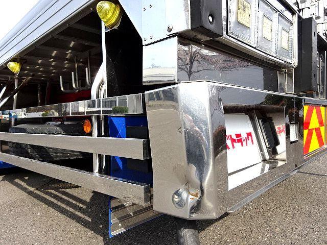 三菱 H27 スーパーグレート ハイルーフ 3軸 低温冷凍車 画像30
