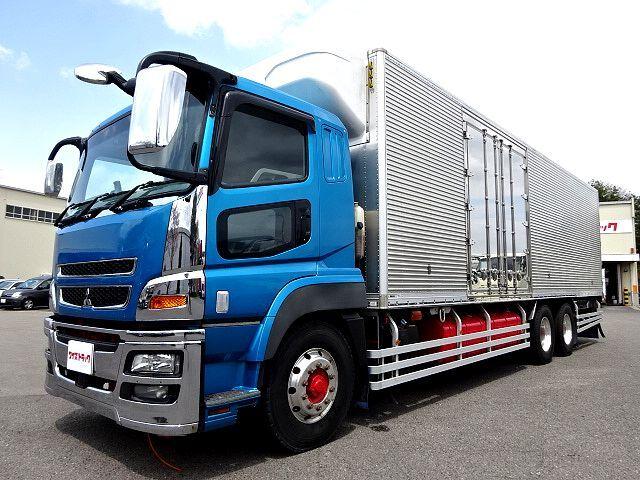 三菱 H28 スーパーグレート 低温冷凍車