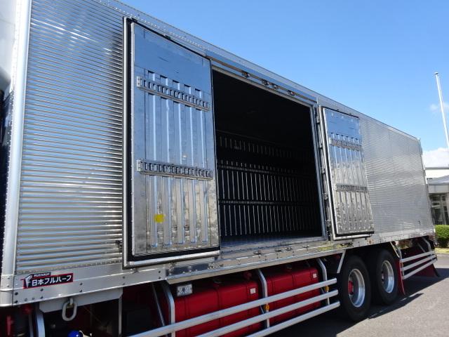 いすゞ H28 ギガ 3軸 低温冷凍車 車検付 キーストン 画像9