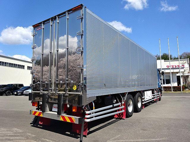 いすゞ H28 ギガ 3軸 低温冷凍車 車検付 キーストン 画像6