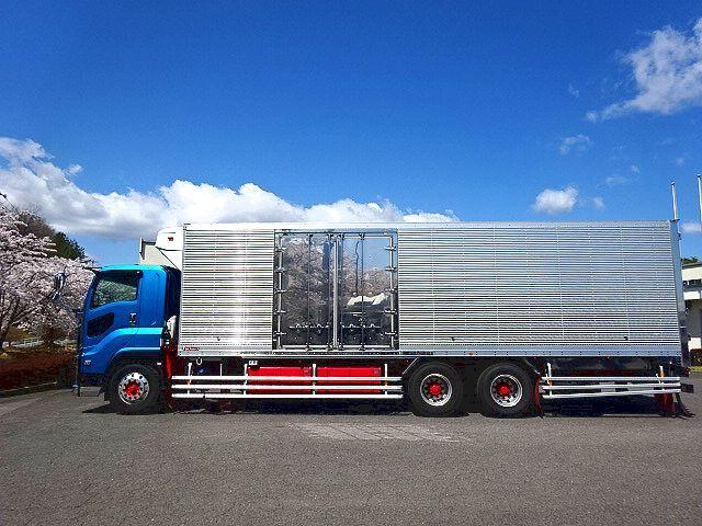 いすゞ H28 ギガ 3軸 低温冷凍車 車検付 キーストン 画像4