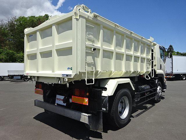 いすゞ H23 フォワード 増トン 深ダンプ 水密式 天蓋付 10.5立米 画像9