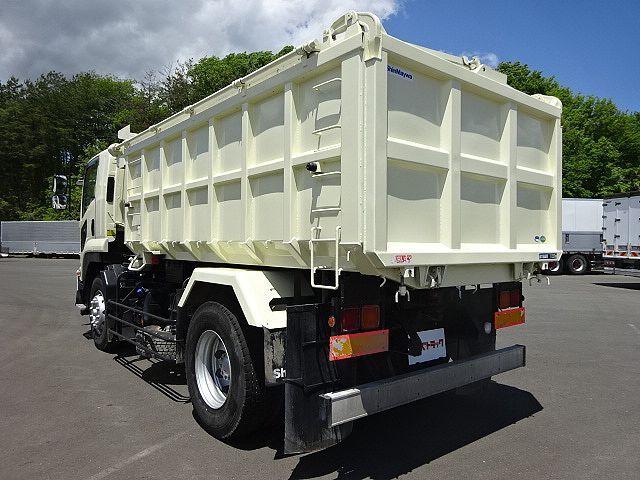 いすゞ H23 フォワード 増トン 深ダンプ 水密式 天蓋付 10.5立米 画像7