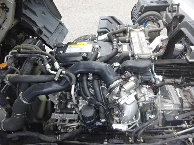 いすゞ H26 フォワード ワイド アルミウィング 格納PG 車検付 画像12