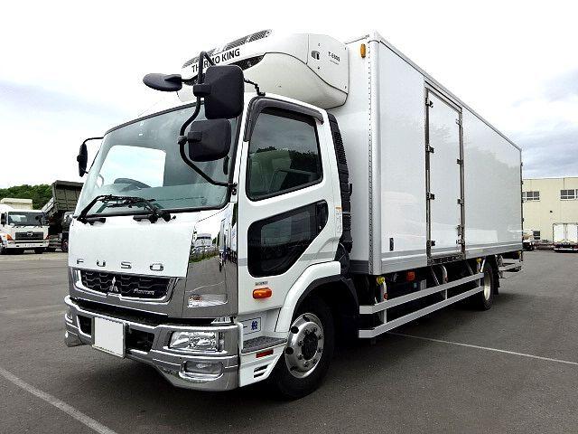 三菱 H27 ファイター 増トン 低温冷凍車 格納PG