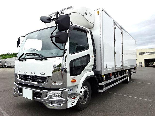 三菱 H27 ファイター 増トン 低温冷凍車 格納PG 画像1