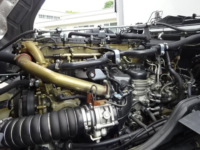 三菱 H28 スーパーグレート 4軸低床冷凍ウィング 画像13