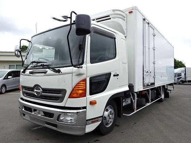日野 H22 レンジャー ワイド 低温冷凍車 格納PG