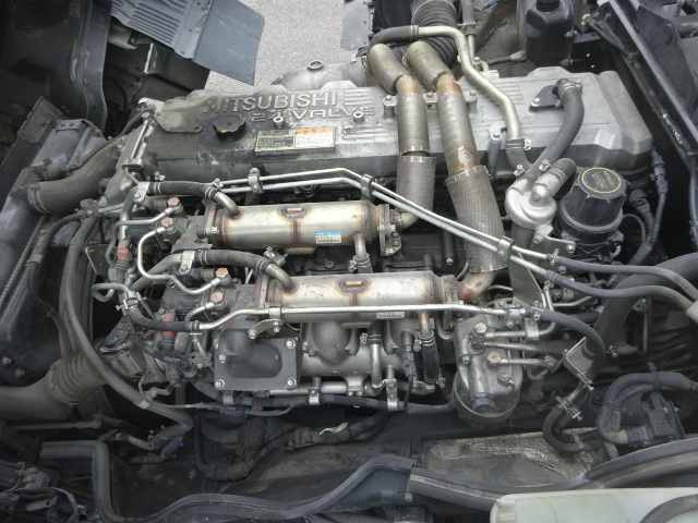 三菱 H21 スーパーグレート 4軸低床 アルミウィング 画像20