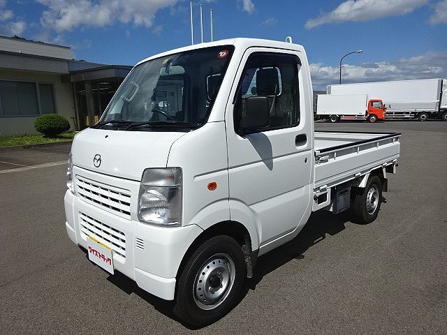 マツダ H23 スクラムトラック KCスペシャル 軽トラ 平 4WD 車検付