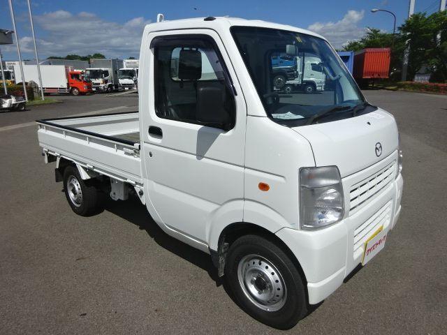マツダ H23 スクラムトラック KCスペシャル 軽トラ 平 4WD 車検付 画像3