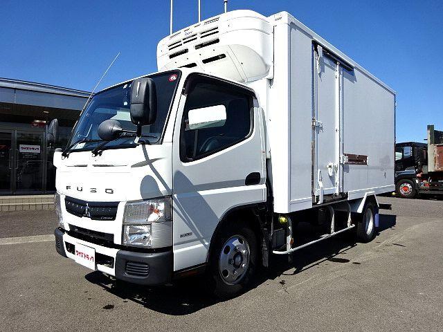 三菱 H26 キャンター ロング 低温冷凍車  画像1
