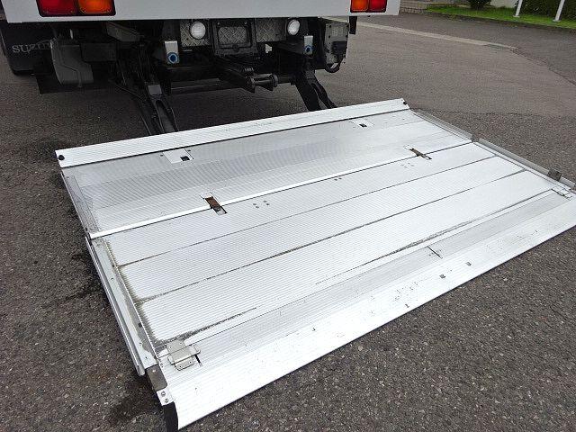 三菱 H27 スーパーグレート 4軸低床冷凍ウィング 格納PG 画像12