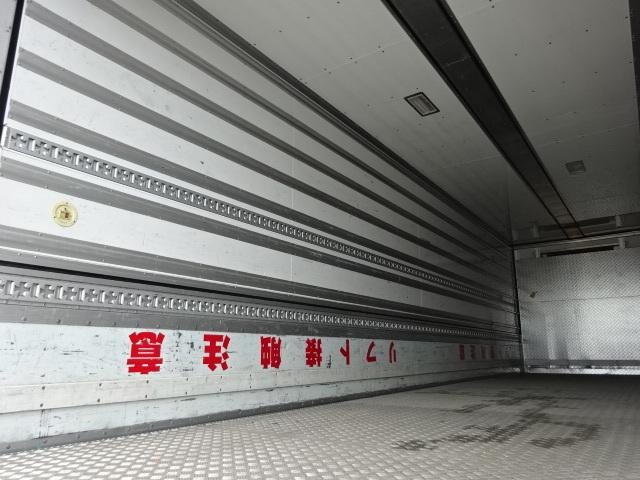 三菱 H27 スーパーグレート 4軸低床冷凍ウィング 格納PG 画像10