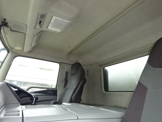 三菱 H27 スーパーグレート 4軸低床冷凍ウィング 格納PG 画像24