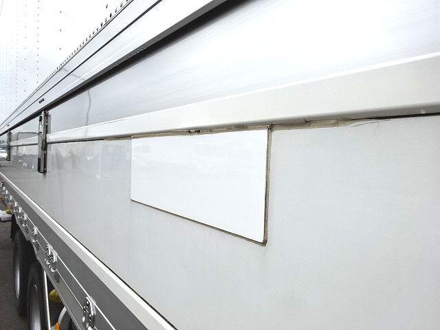 三菱 H27 スーパーグレート 4軸低床冷凍ウィング 格納PG 画像26