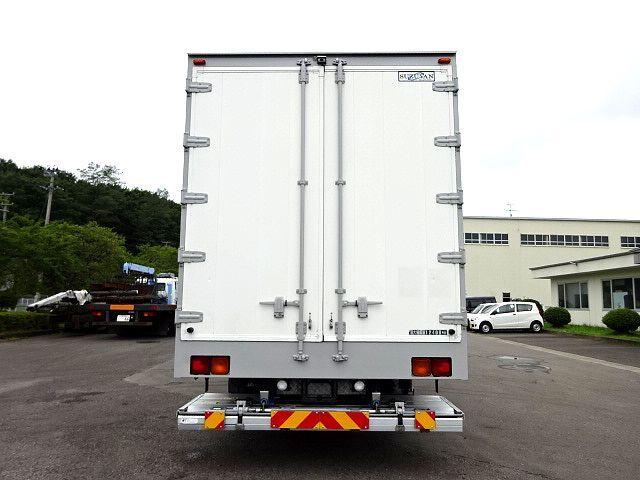 三菱 H27 スーパーグレート 4軸低床冷凍ウィング 格納PG 画像7