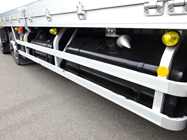 三菱 H27 スーパーグレート 4軸低床冷凍ウィング 格納PG 画像16