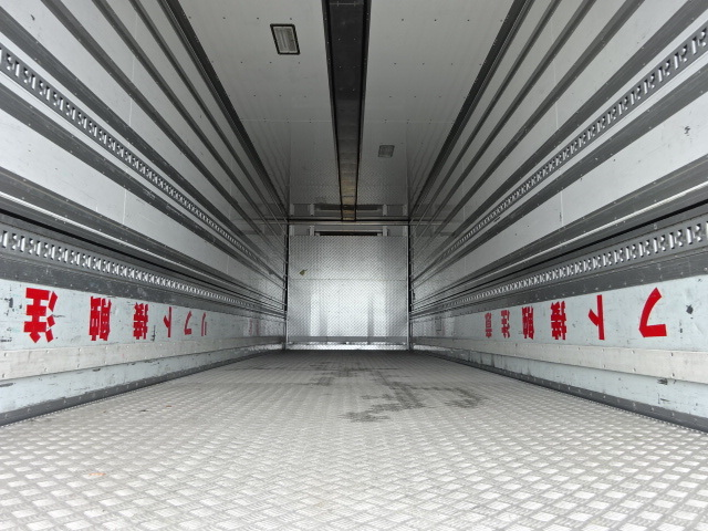 三菱 H27 スーパーグレート 4軸低床冷凍ウィング 格納PG 画像9