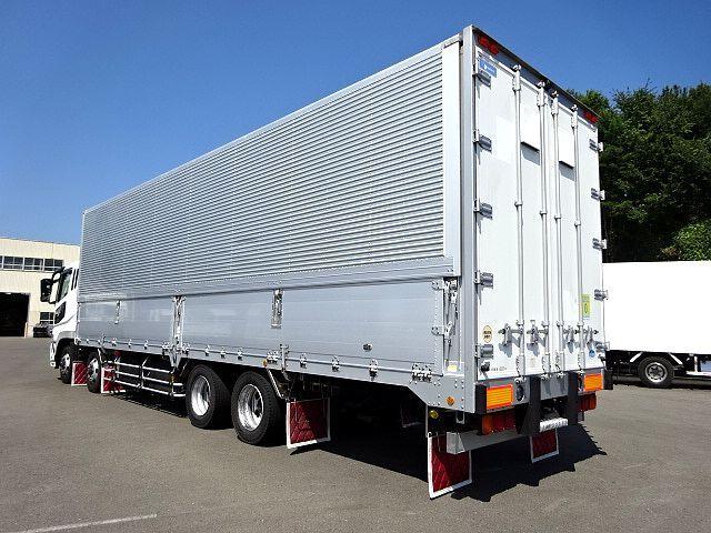 三菱 H21 スーパーグレート 4軸低床冷凍ウィング 画像8