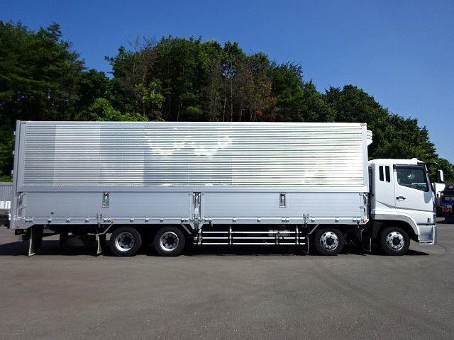 三菱 H21 スーパーグレート 4軸低床冷凍ウィング 画像5