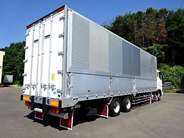 三菱 H21 スーパーグレート 4軸低床冷凍ウィング 画像6