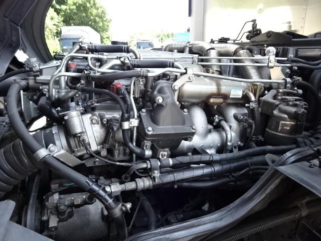 三菱 H21 スーパーグレート 4軸低床冷凍ウィング 画像17