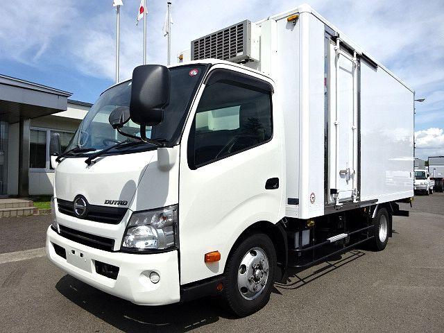 日野 H25 デュトロ ワイドロング 低温冷凍車