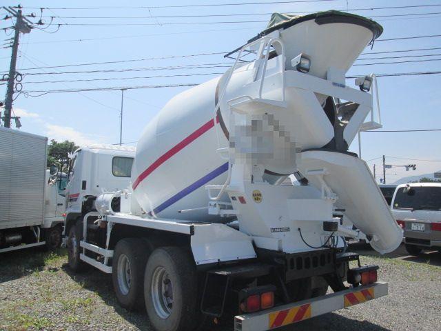 日野 H25 プロフィア コンクリートミキサー車 8.7㎥ 車検付 画像8