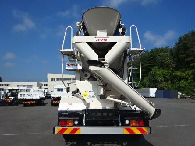 いすゞ H27 ギガ コンクリートミキサー 車検付 画像7