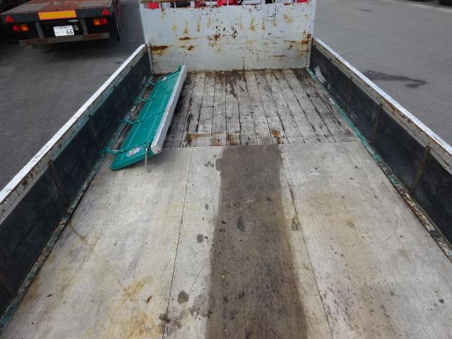 いすゞ H15 フォワード 平 セルフ 5段クレーン 車検付 画像14