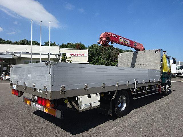 三菱 H18 ファイター 平 アルミブロック 4段クレーン 車検付 画像7