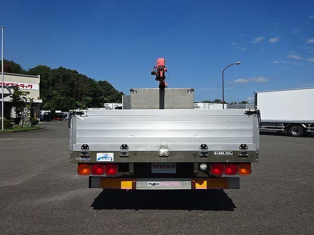 三菱 H18 ファイター 平 アルミブロック 4段クレーン 車検付 画像8