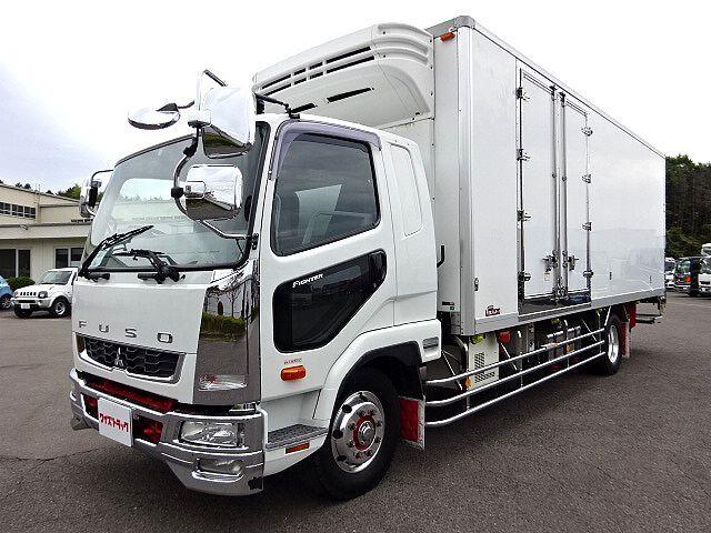 三菱 H22 ファイター 増トン 低温冷凍車 格納PG 車検付 画像1