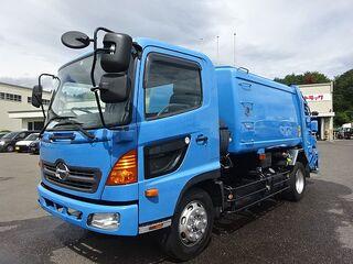 H22 レンジャー 増トン パッカー車 ダンプ式 回転式