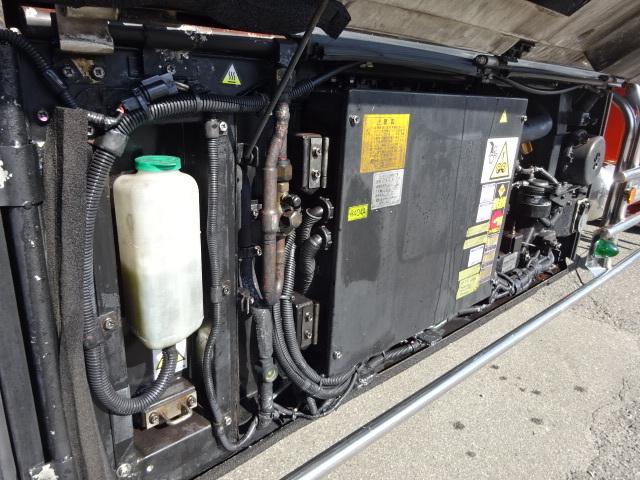 三菱 H22 スーパーグレート 3軸低温冷凍車 画像15