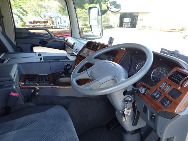 三菱 H22 スーパーグレート 3軸低温冷凍車 画像22
