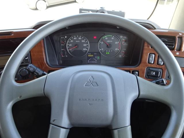 三菱 H22 スーパーグレート 3軸低温冷凍車 画像23