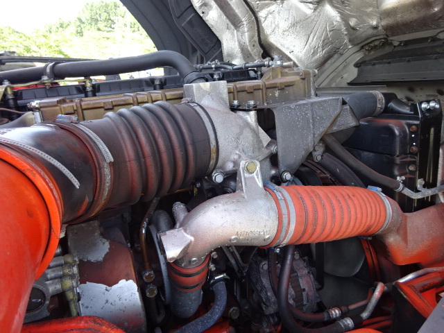 三菱 H22 スーパーグレート 3軸低温冷凍車 画像20