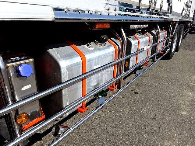 三菱 H22 スーパーグレート 3軸低温冷凍車 画像19