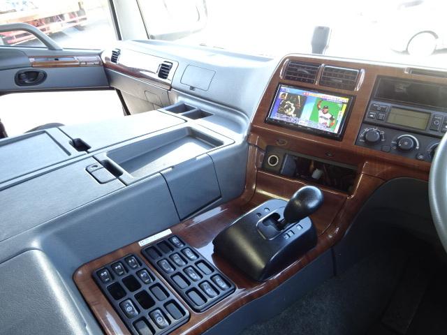 三菱 H22 スーパーグレート 3軸低温冷凍車 画像25