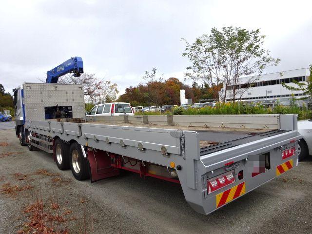 三菱 H27 スーパーグレート セルフ 3段クレーン 車検付 画像9