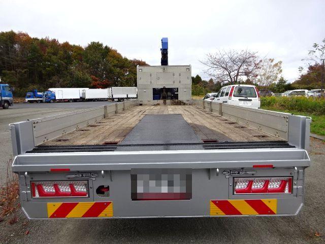 三菱 H27 スーパーグレート セルフ 3段クレーン 車検付 画像8
