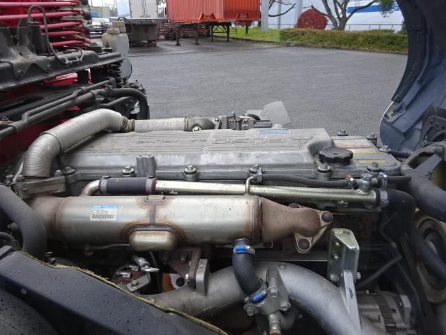 三菱 H21 ファイター アルミブロック 3段クレーン カスタム 画像33