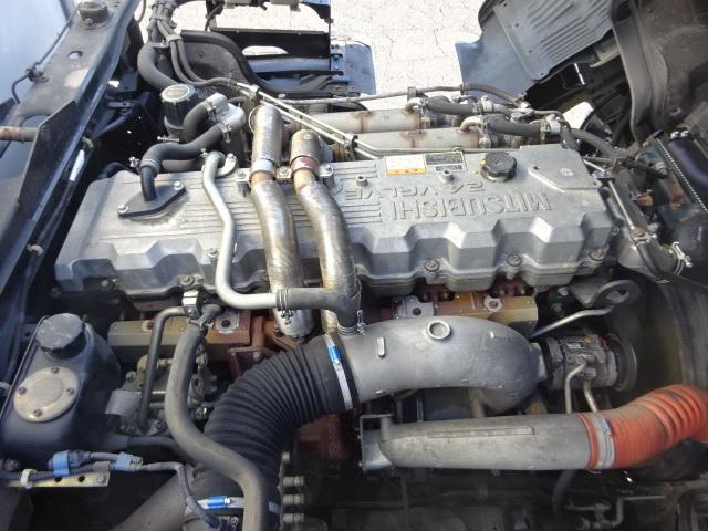 三菱 H20 スーパーグレート 4軸低床 低温冷凍ウィング 画像28